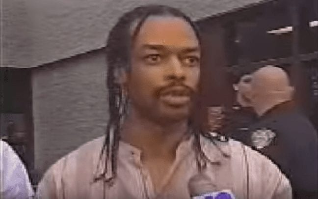 Isaac Wright Jr outside court