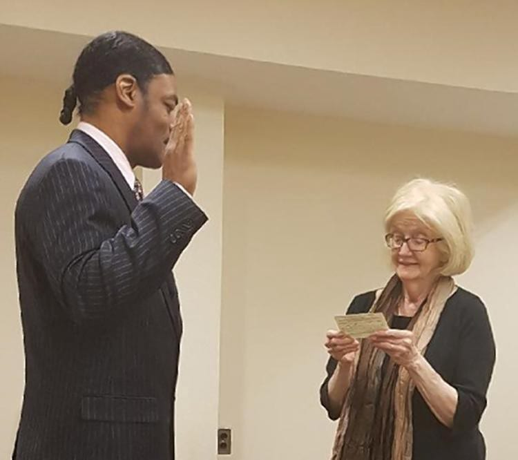 Isaac Wright Jr becomes a lawyer.
