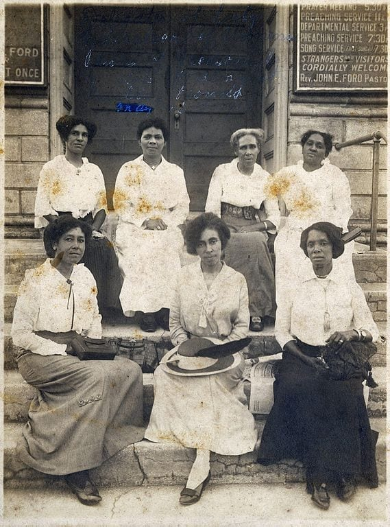 Federation of Colored Women's Club of Jacksonville in 1915.