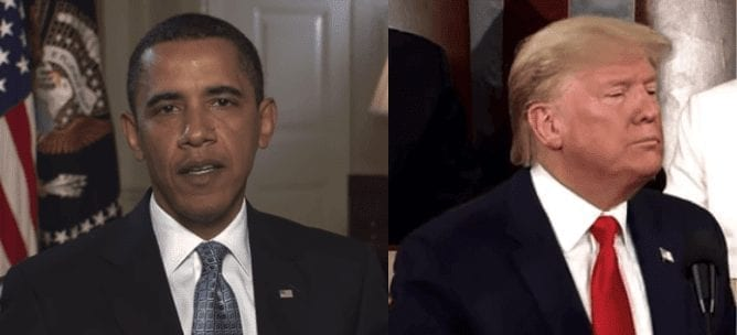 Compare COVID-19 coronavirus Trump actions with H1N1 swine flu actions by Obama