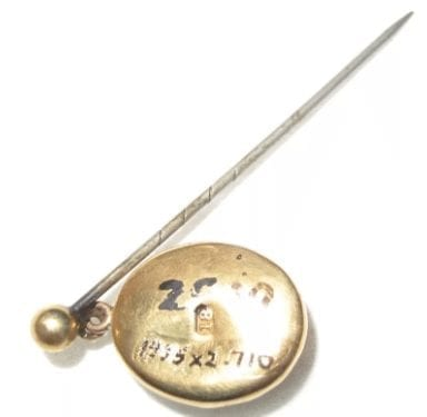 Sharp 1900s hat pin used during Hatpin Panic.