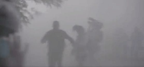 Minneapolis police tear gas journalists and beat reporters.