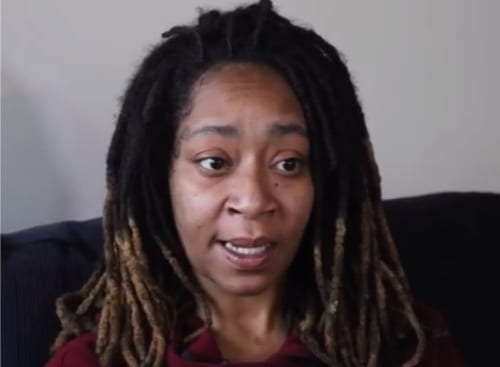 Tiffany Taylor speaks in an interview about her survival.