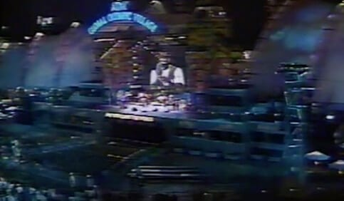 1996 video footage of the Centennial Olympic Park bombing in Atlanta