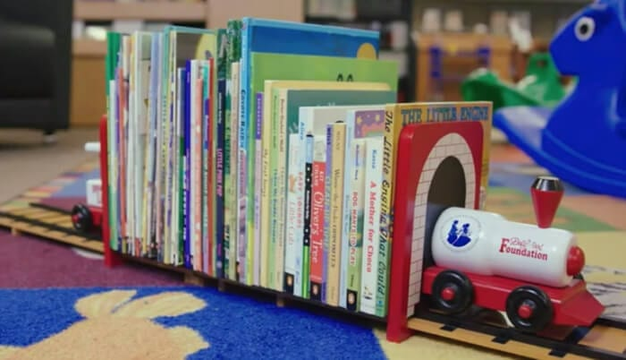 Examples of children's books from Dolly Parton's Imagination Library