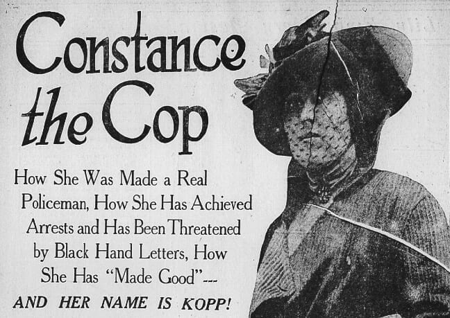 How Constance Kopp Became First Female Sheriff's Deputy
